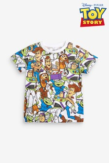Multi Toy Story All Over Print Jersey T-Shirt (3mths-8yrs)
