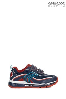 Geox Junior Boy's Android Navy/Red Shoes