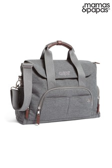 Grey Mist Mamas & Papas Bowler Changing Bag