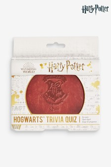 White Harry Potter Hogwarts Trivia Quiz Card Game