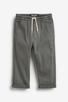 Grey Pull-On Trousers (3mths-7yrs)