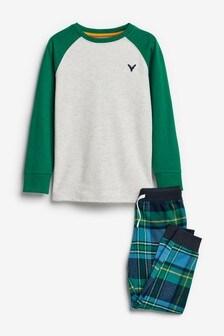 Green Check Pyjamas (3-16yrs)