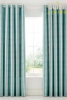 Scion Akira Lined Eyelet Curtains