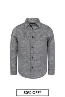 Emporio Armani Boys Navy Shirt