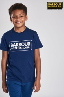Barbour® International Boys Logo T-Shirt