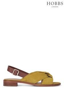 Hobbs Yellow Robbie Sandals