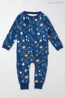 Angel & Rocket Blue Stars Pyjamas