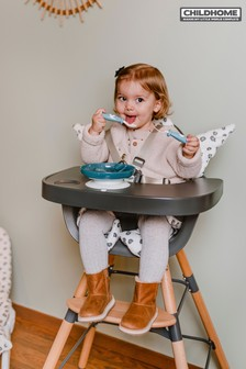 Childhome Evolu 2 Chair Natural and Anthracite