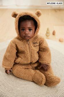Myleene Klass Baby Cosy Bear Pramsuit