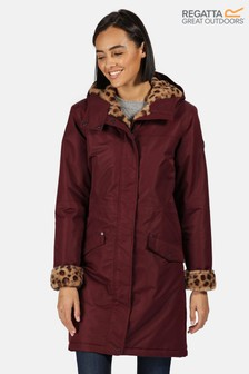 Regatta Purple Rimona Waterproof Jacket