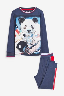 Blue Panda Pyjamas (3-16yrs)