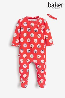 Baker by Ted Baker Red Dot Sleepsuit