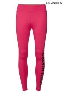 Calvin Klein Pink Full Length Tights