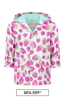 Hatley Kids & Baby Girls Pink Delicious Berries Raincoat