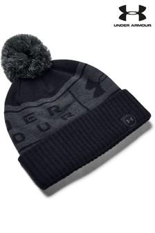 Under Armour Big Logo Pom Beanie Hat