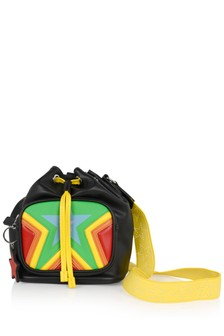 Girls Multicoloured Star Bucket Bag