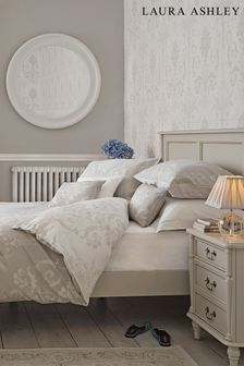 White Clifton Ivory Bed Frame By Laura Ashley