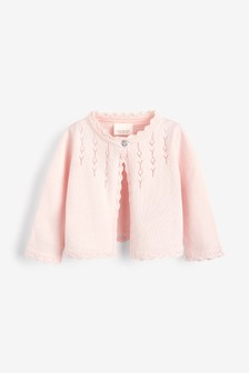 Pink Occasion Cardigan (0mths-2yrs)