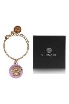 Girls Gold Logo Bracelet