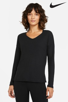 Nike Yoga Pointelle Long Sleeve T-Shirt