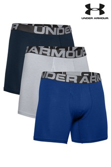 Under Armour Charged Boxers Three Pack