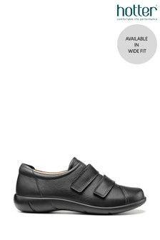 Hotter Leap Wide Fit Touch Fastening Trouser Shoes