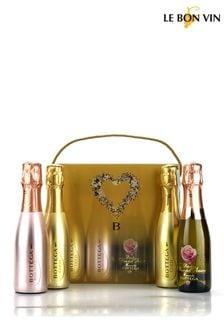 Bottega Prosecco Sparkling Wine Gift Set by Le Bon Vin