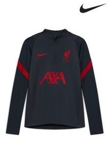 Nike Navy Liverpool FC Strike Drill Top