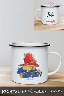 Personalised Paddington Bear Enamel Mug by Signature PG