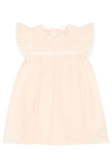 Chloe Kids Chloe Girls Pink Cotton Dress