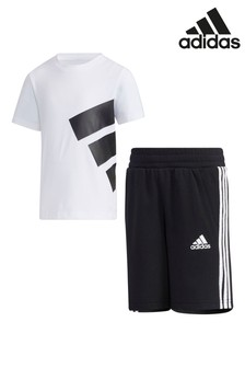 adidas Little Kids BOS T-Shirt And Shorts Set