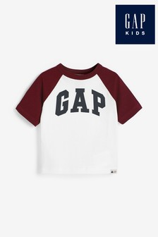 Gap White Logo T-Shirt