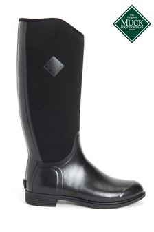 Muck Boots Black Women's Derby Tall Boots