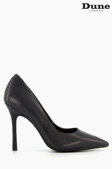 Dune London Belaire Pointed Toe Mid Heel Court Shoes