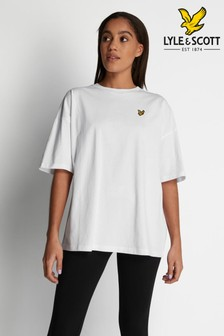 Lyle & Scott White Oversized T-Shirt