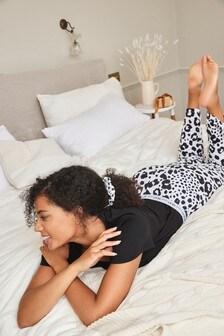 Monochrome Animal Cotton Pyjamas