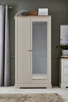 Stone Hampton Mirrored Wardrobe
