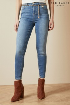 Ted Baker Starel Skinny Jeans With Chain Belt