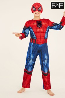 F&F Red Spider-Man Dress Up