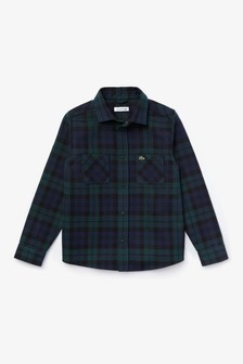 Lacoste® Kids Oxford Long Sleeve Shirt