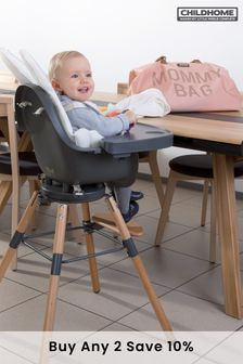 Childhome Evolu One.80 Chair Natural and Anthracite