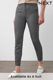 Charcoal Slim Trousers
