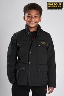 Barbour® International Boys Waterproof Duke Jacket