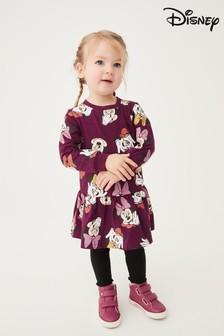 Plum Minnie Mouse Jersey Dress (3mths-7yrs)