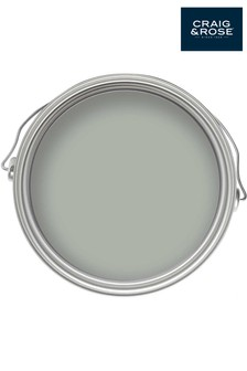 Chalky Emulsion Almost Grey 50ml Paint Tester Pot by Craig & Rose