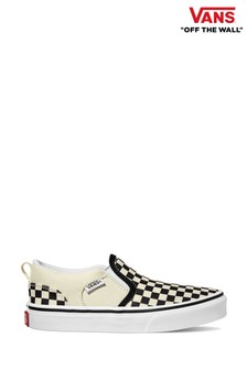 Vans Youth Asher Checkerboard Trainers