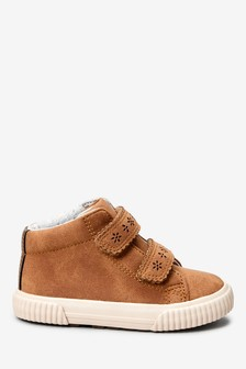 Tan High Top Boots (Younger)