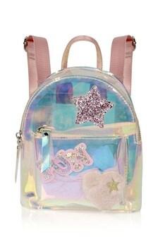 Girls Iridescent Backpack