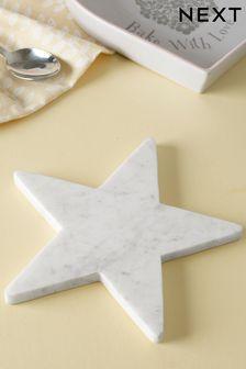 Star Shaped Marble Trivet
