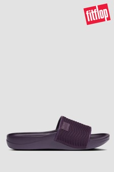 FitFlop™ Purple iQushion™ Neoprene Wave Pool Slides